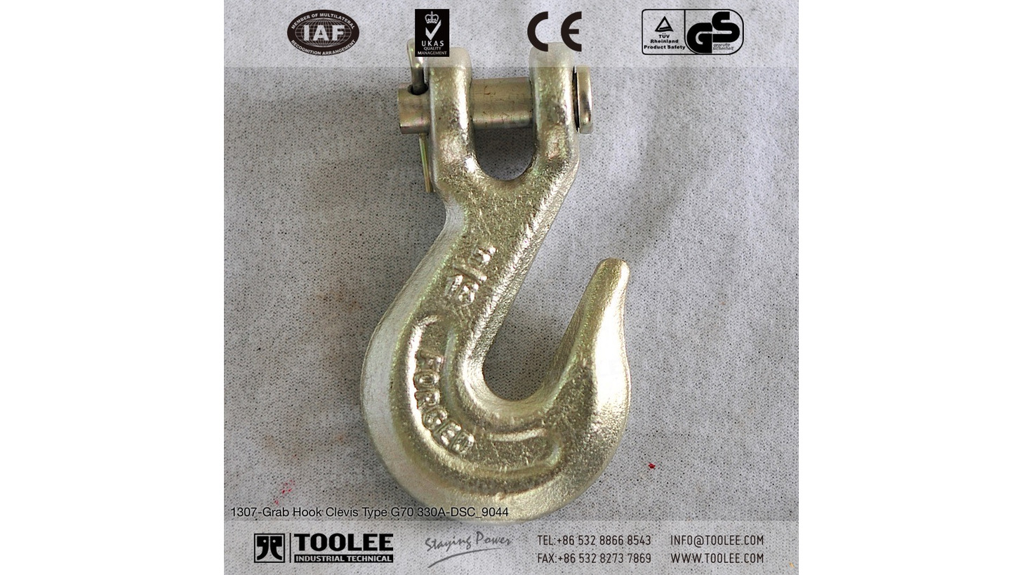 Logo Grab Hook Clevis Type G70 330A
