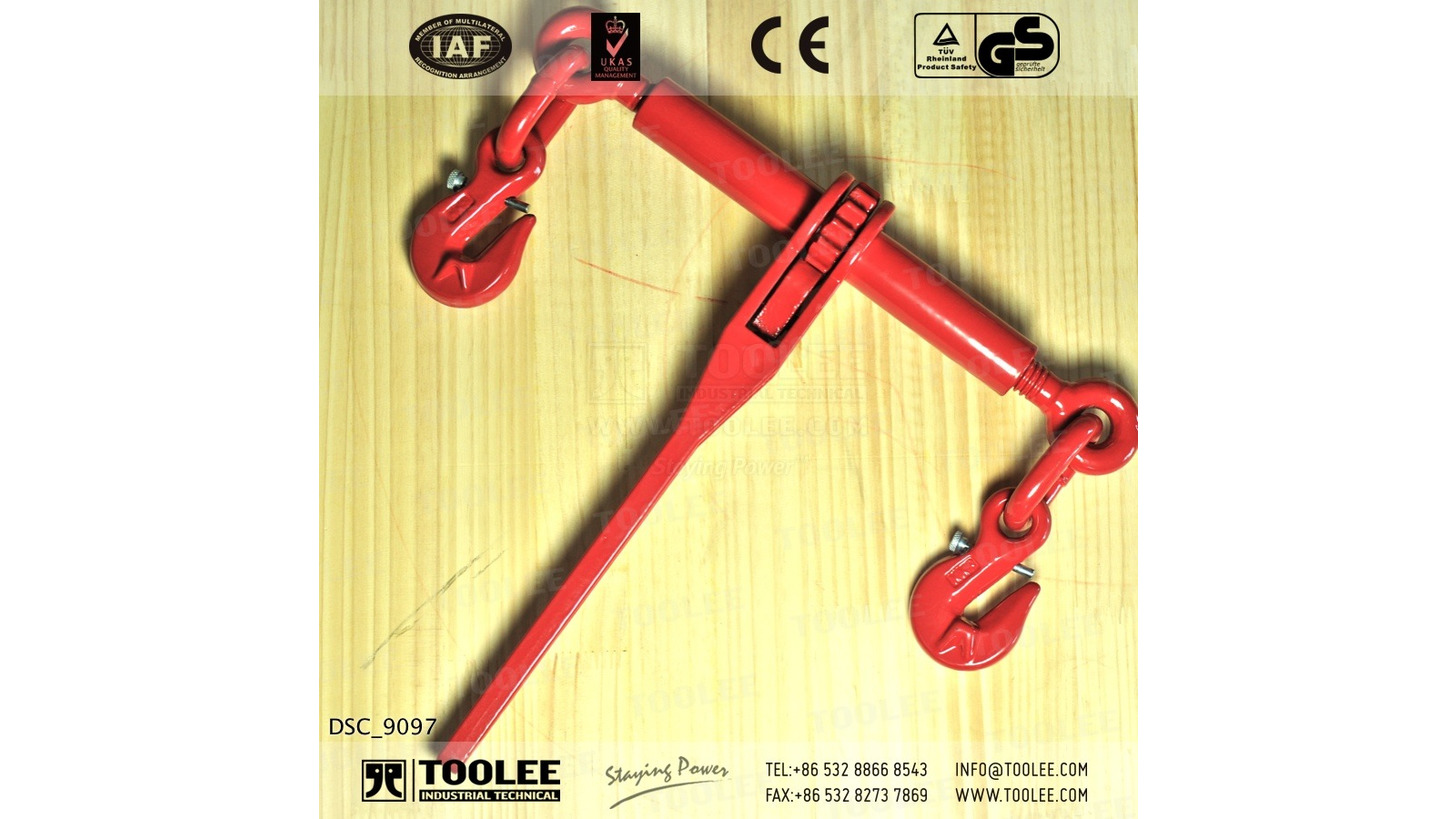 Logo EN12195-3 Ratchet Load Binder