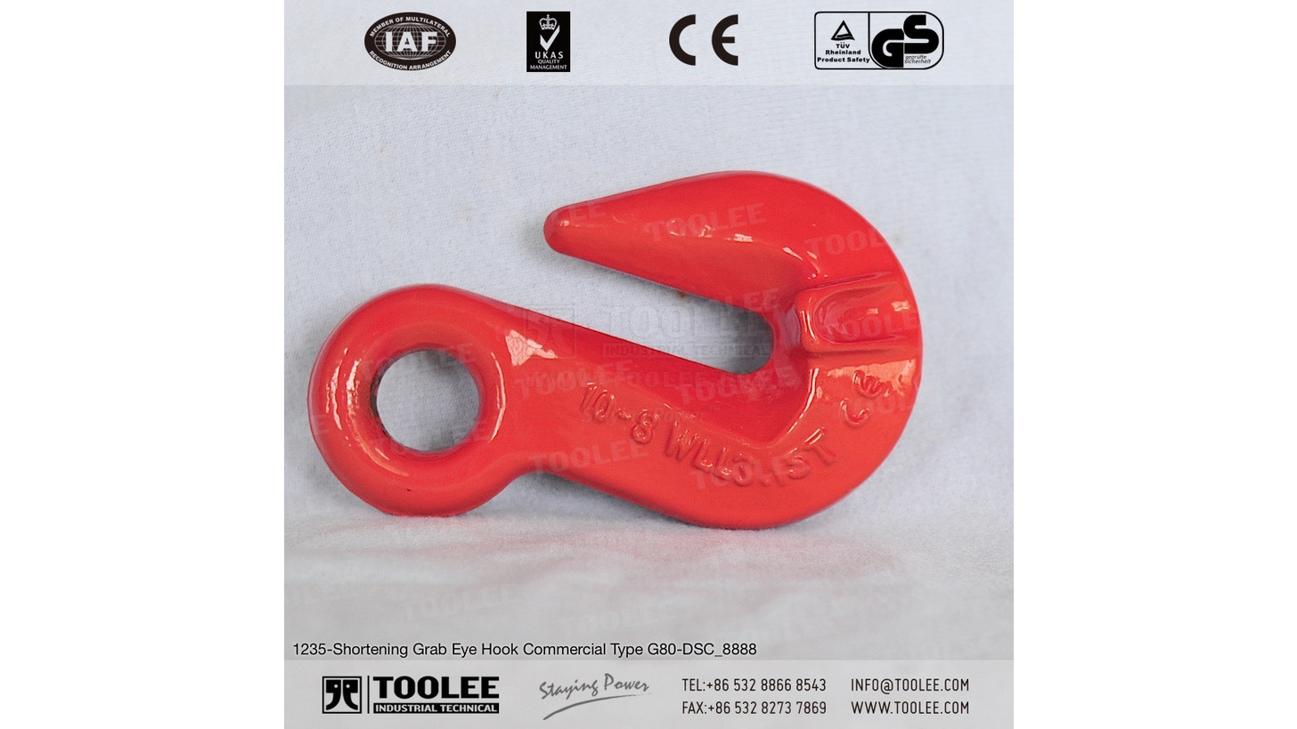 Logo Shortening Grab Eye Hook