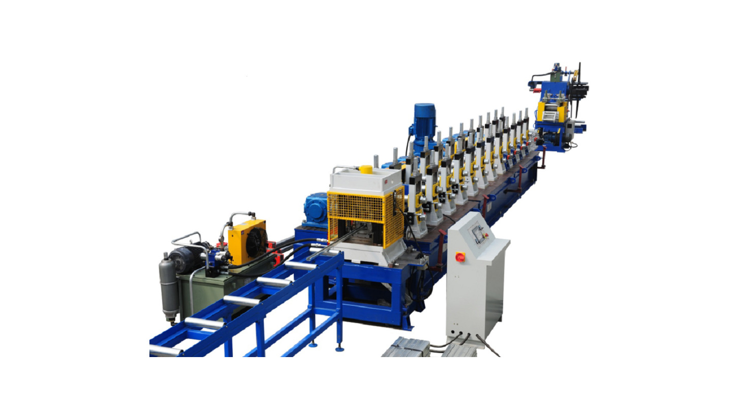 Logo Shelf Drawbar Roll Forming Line