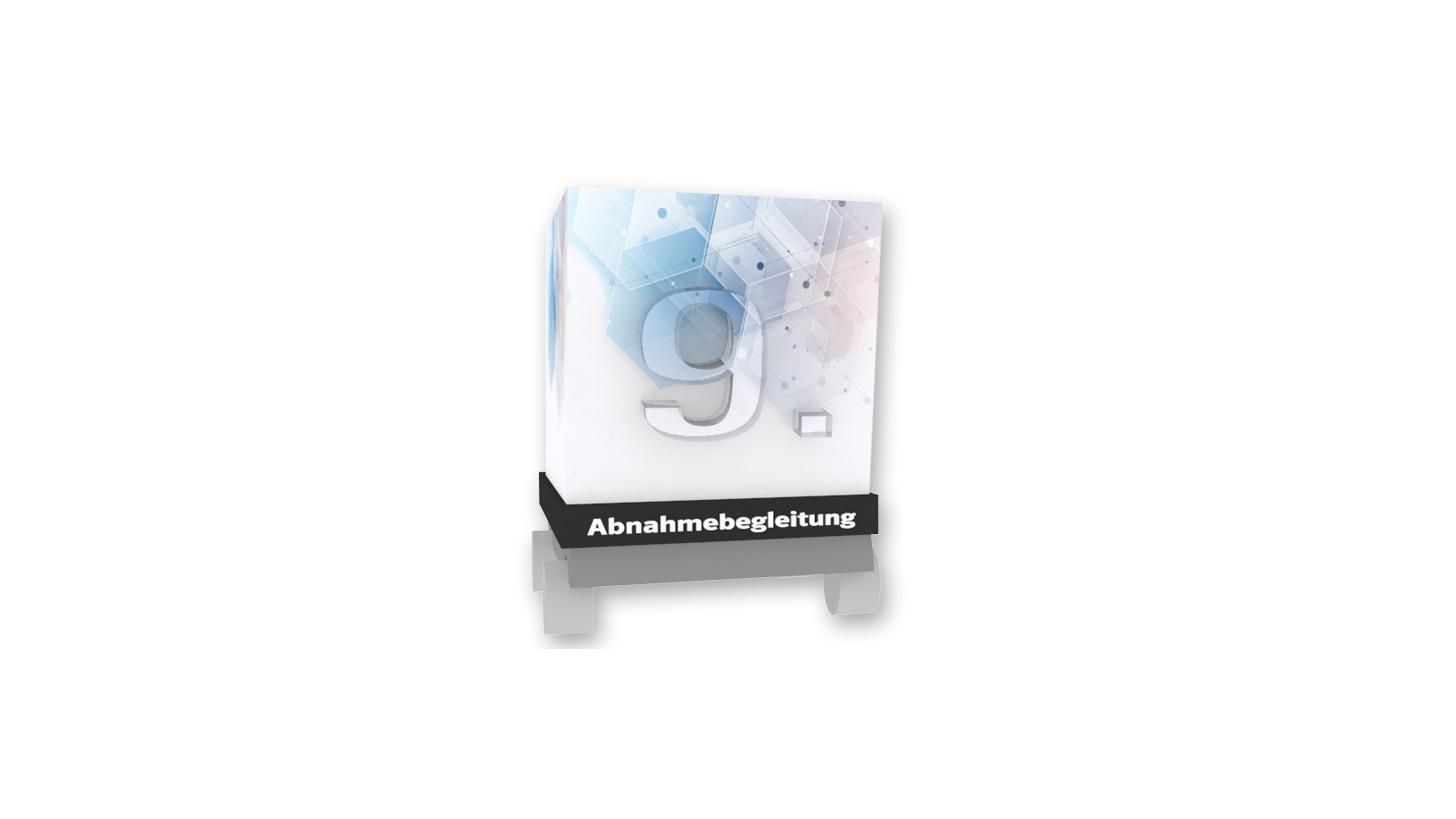 Logo 9. ABNAHMEBEGLEITUNG