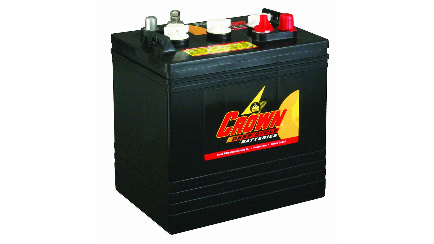 Logo Crown Deep-Cycle Batteries