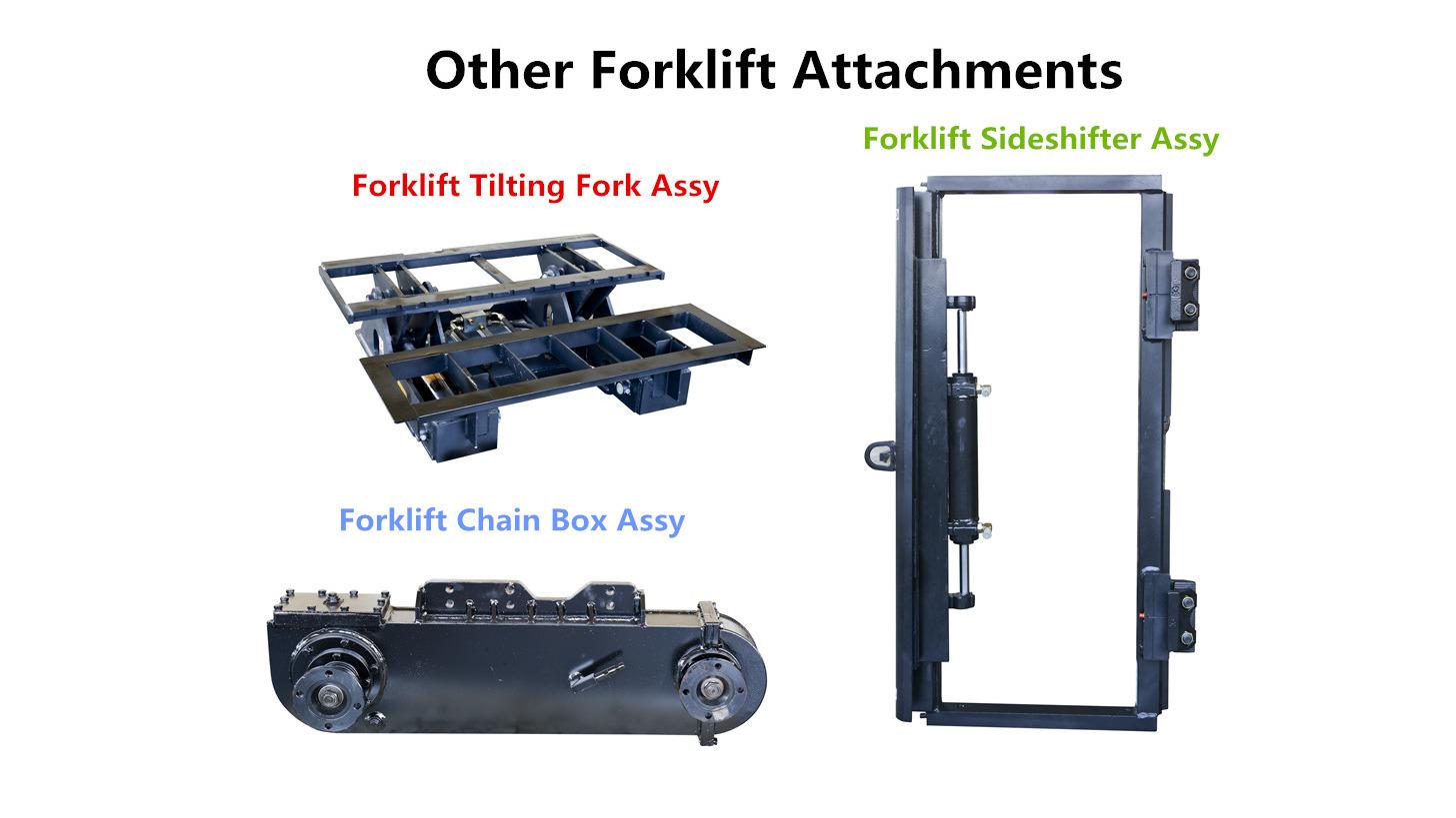 Logo Forklift Sideshifter and Tilting Fork