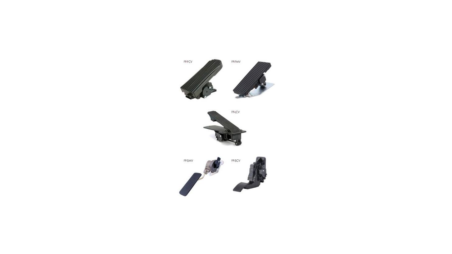 Logo Foot pedals - Model FP