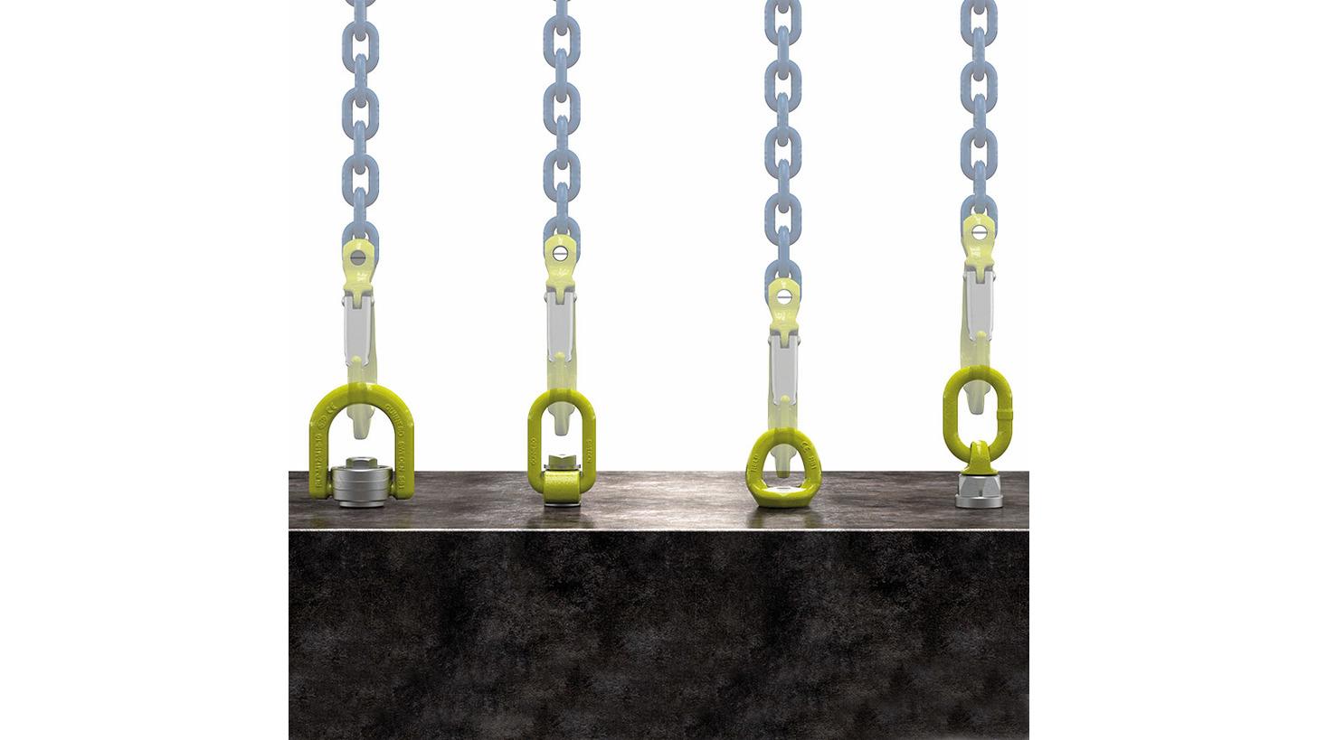 Logo Produktpalette Anschlagpunkte