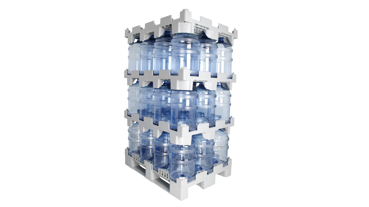 Logo Water Bottle Racking System