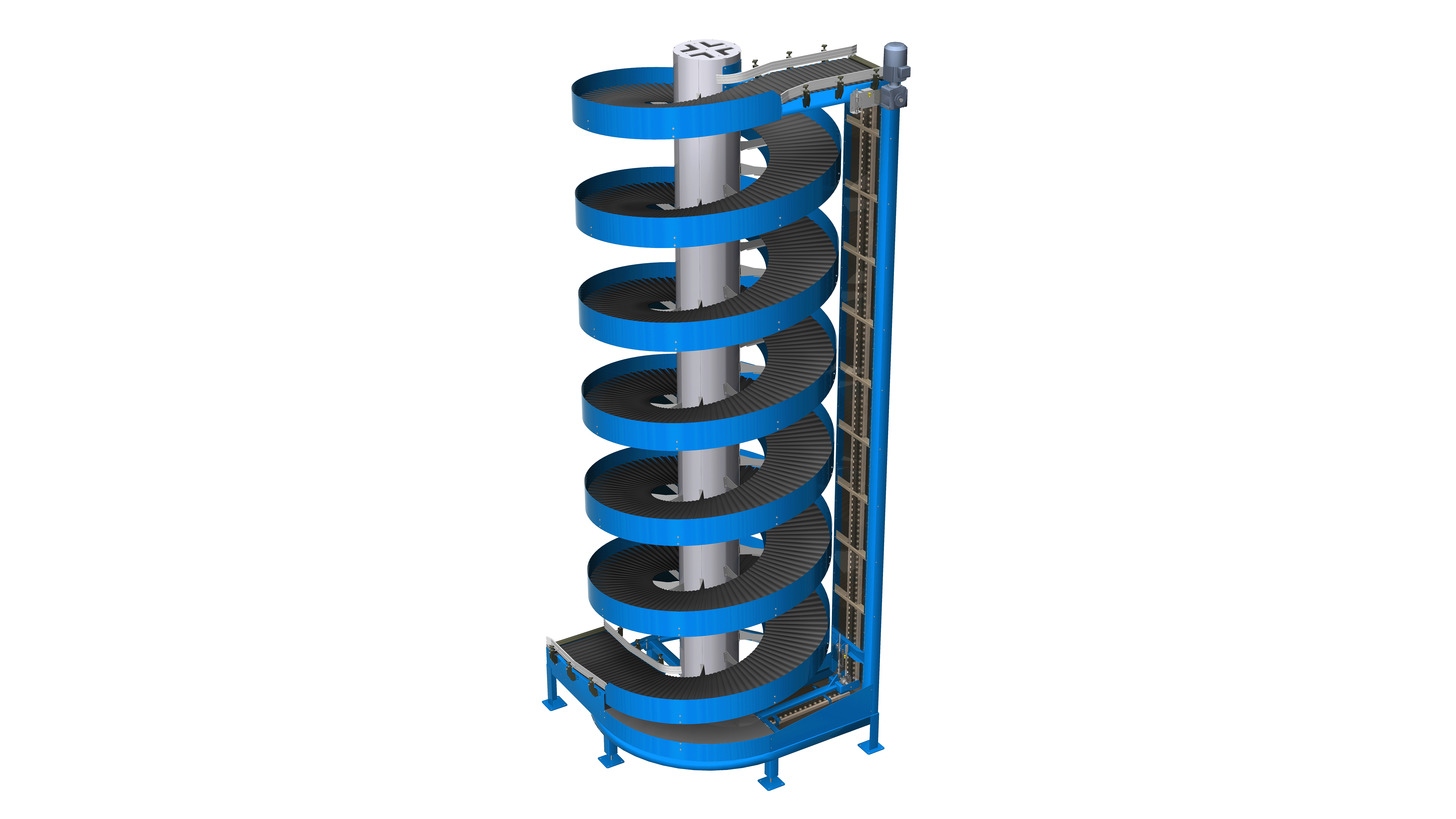 Logo Vertical Spiral Conveyor