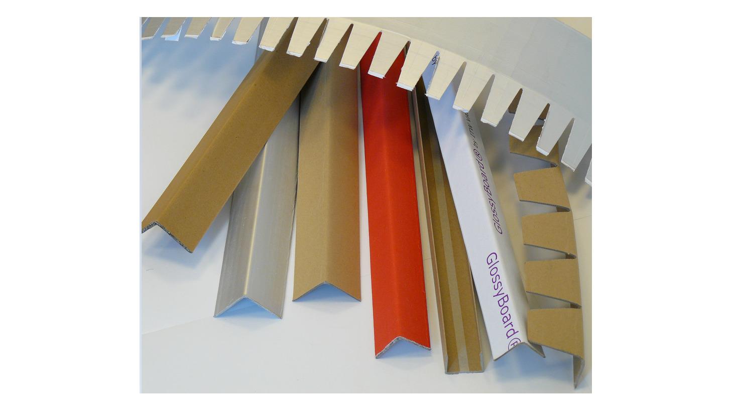 Logo Corner protection & Pallet stabilization