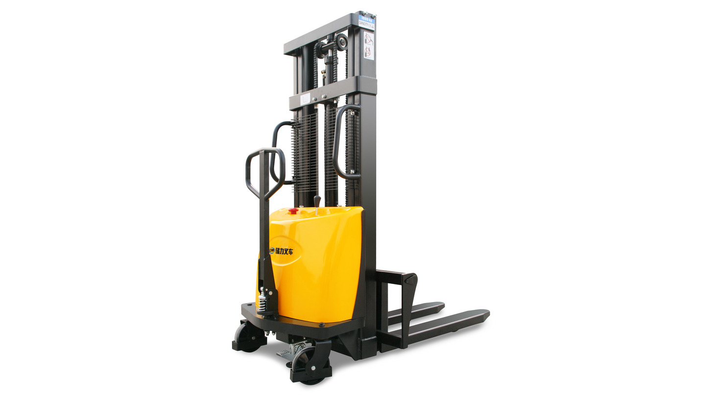 Logo Semi Electric Stacker