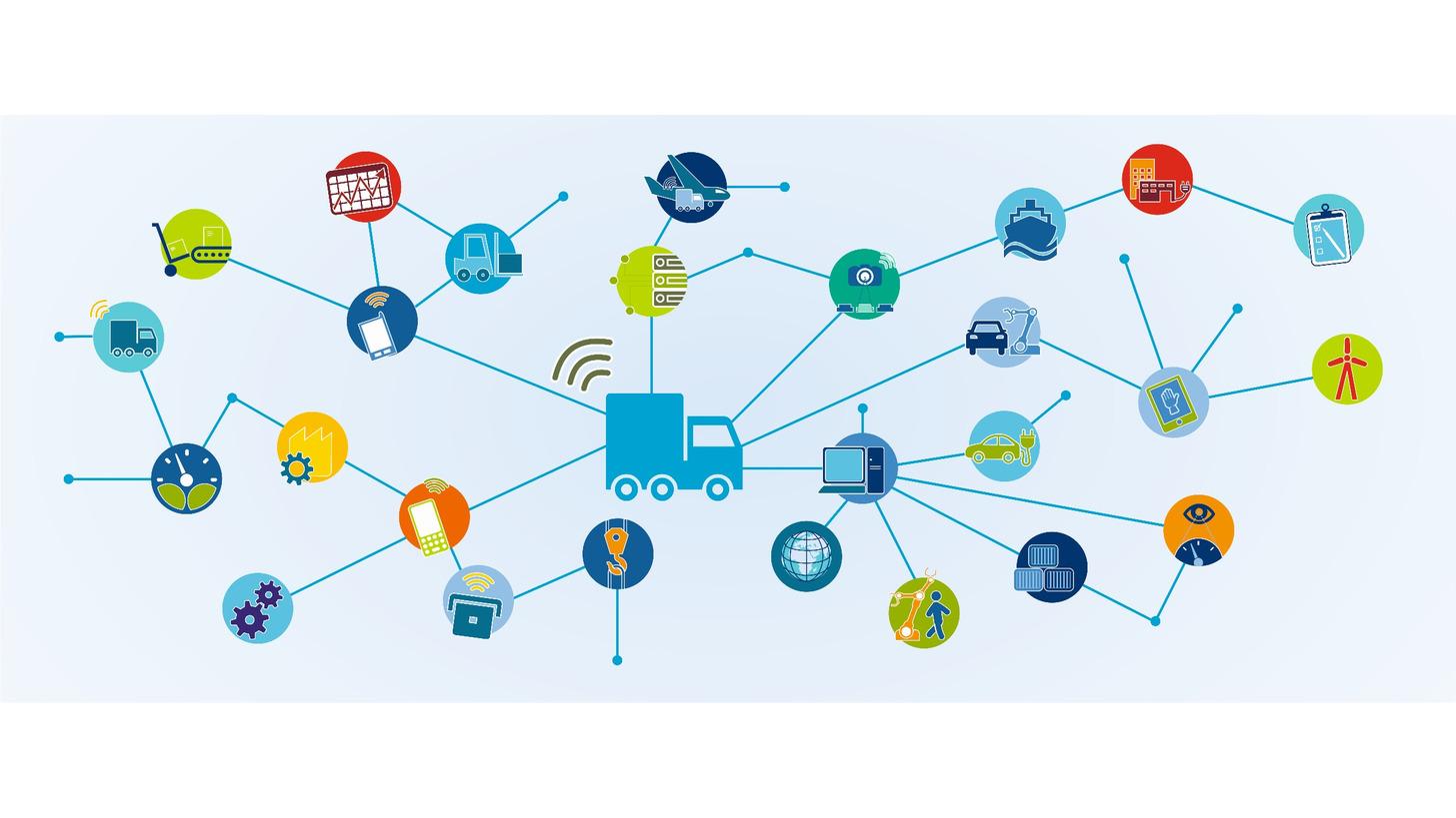Logo IoT-Einsatz in der Logistik
