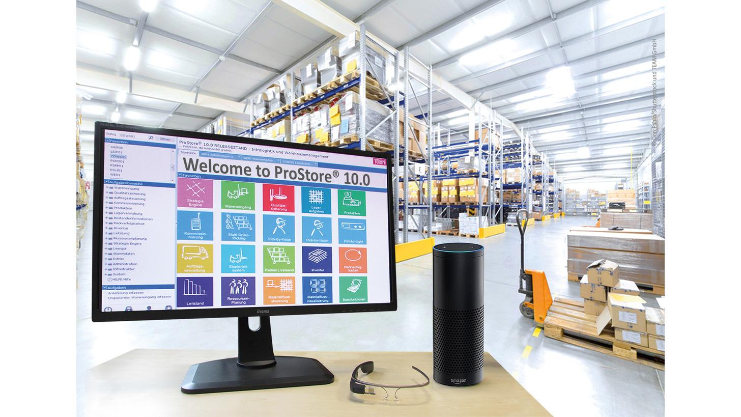 Logo ProStore® - Warehouse Management System