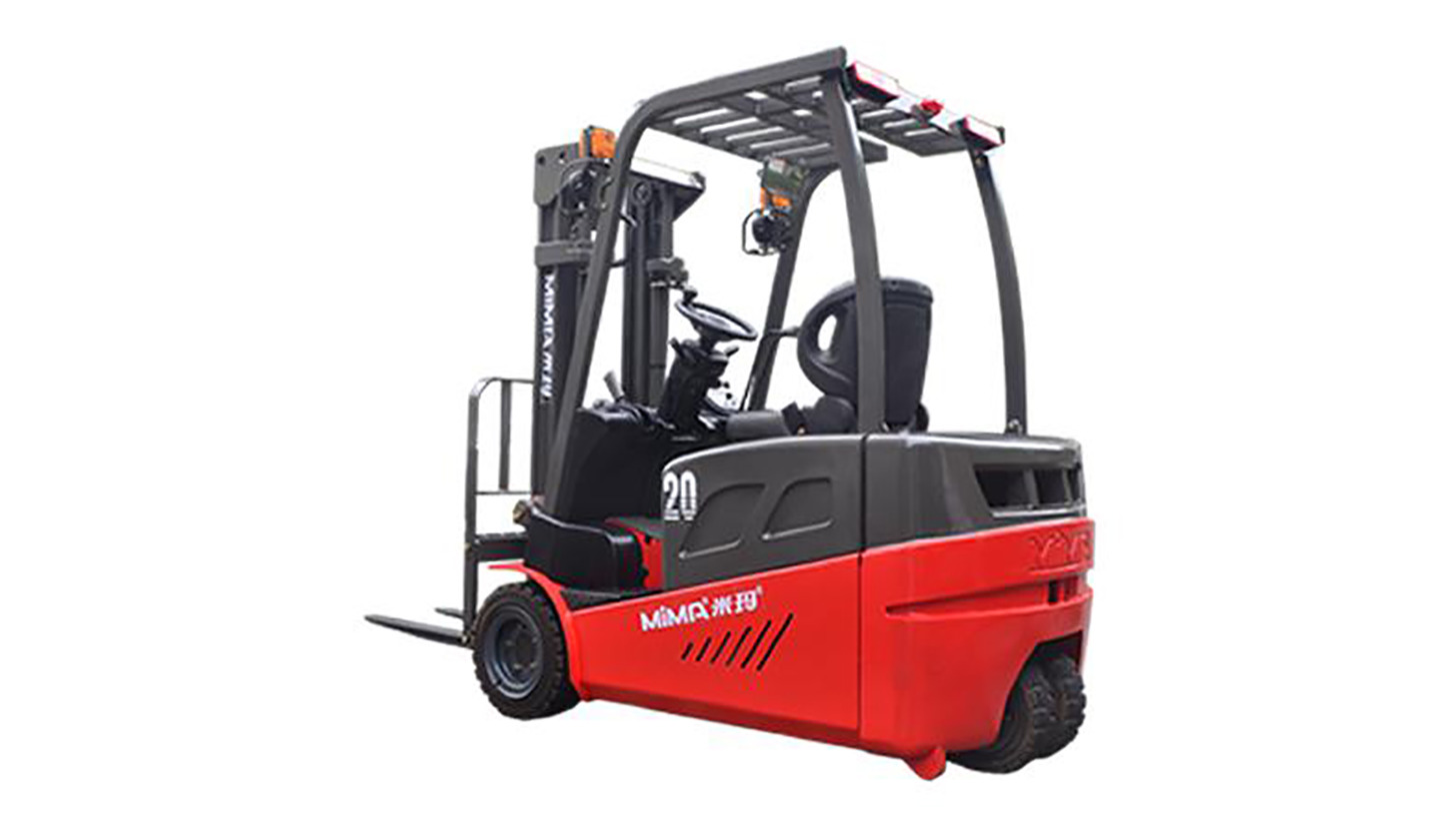 Logo counter balance electric forklift