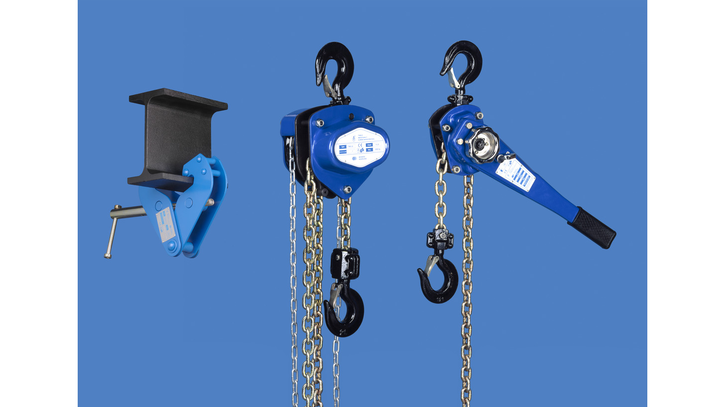 Logo TM Chain / Lever Block with Overload Protection