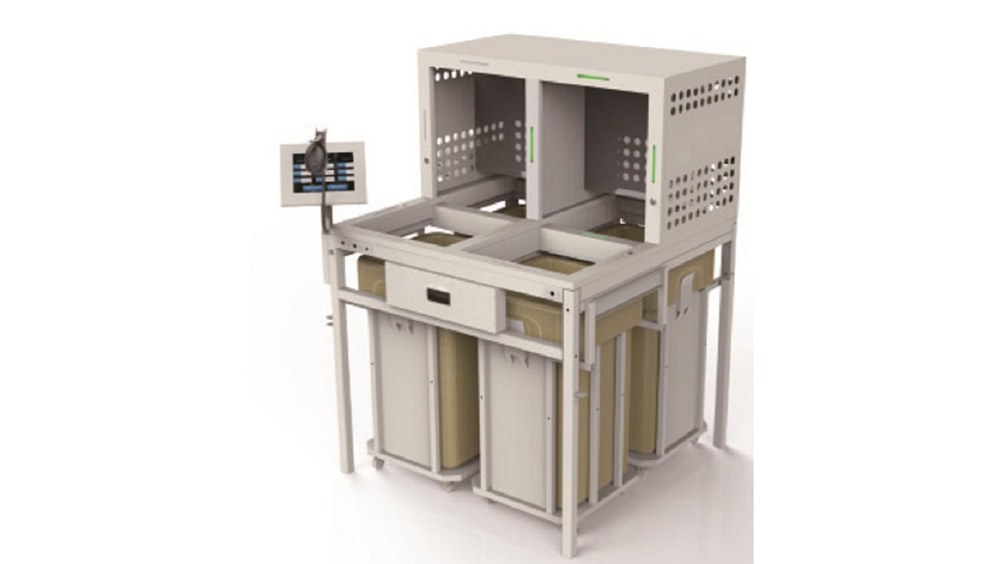 Logo Semi-automatic sorting cabinet