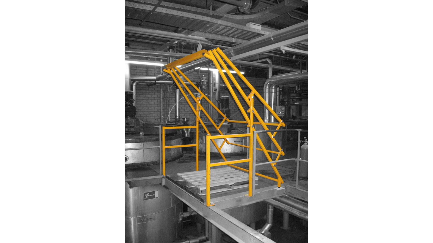 Logo Safety pallet gates