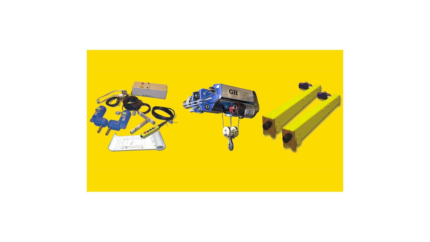Logo Crane kits