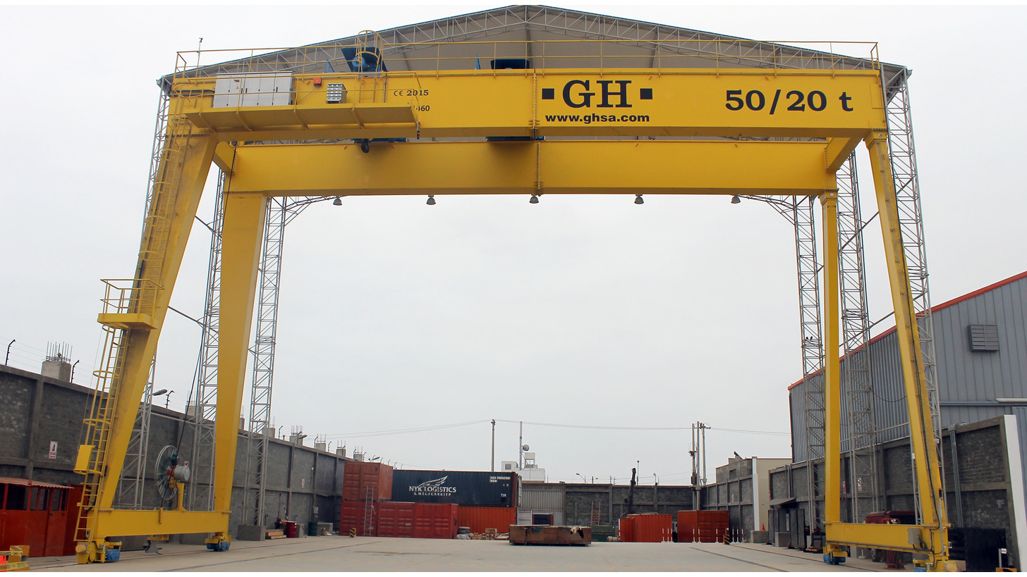 Logo Gantry Crane