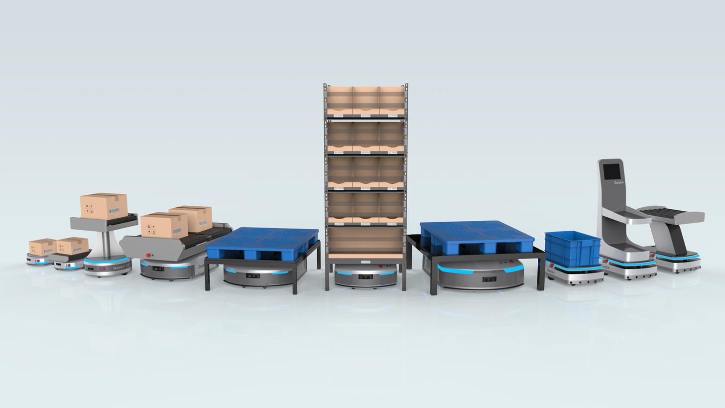 Logo Geek+ Robotics for Logistics & Warehouse