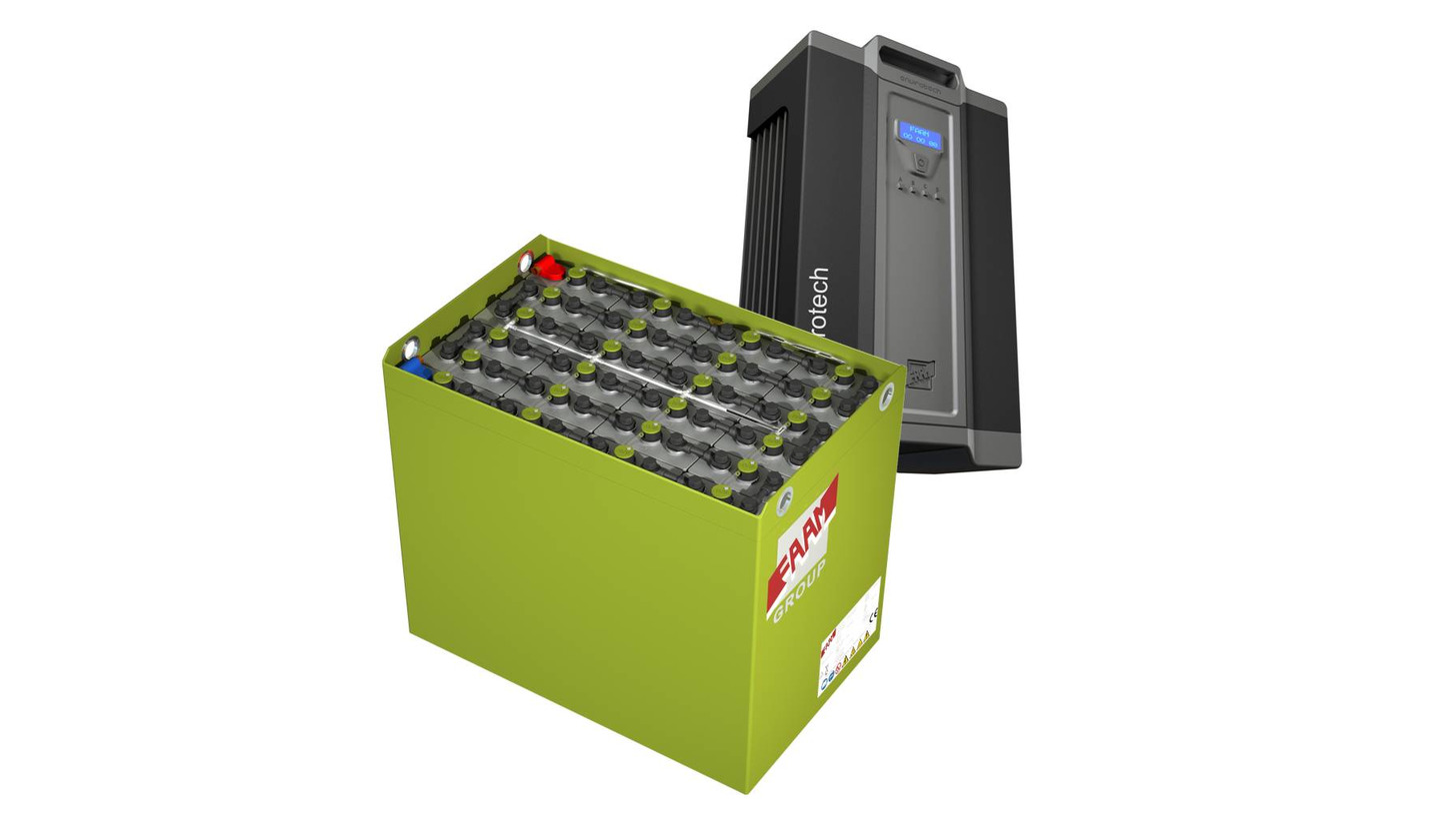 Logo FAAM Energy Saving Battery-Envirotech System