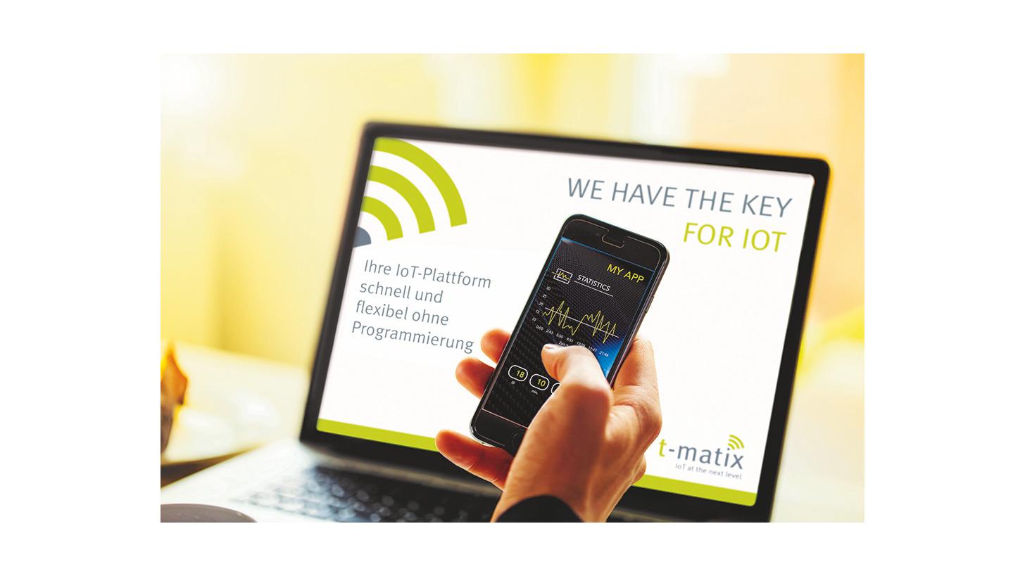 Logo t-matix IoT platform