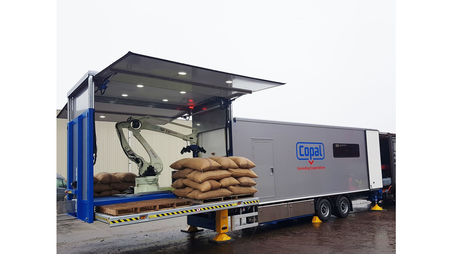 Logo Copal C2 Mobile Container Entlader