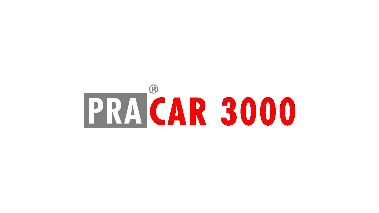 Logo PRA®CAR 3000