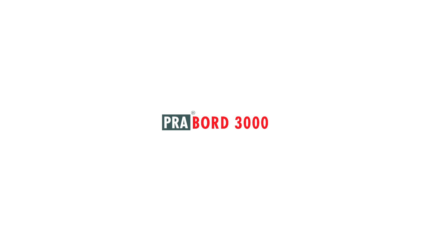 Logo PRA®BORD 3000