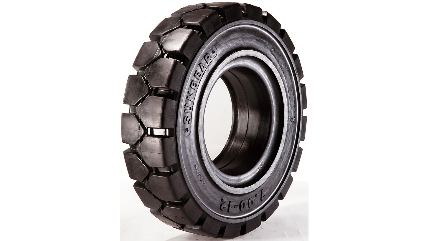 Logo SUNBEAR Solid Resilient Tyres