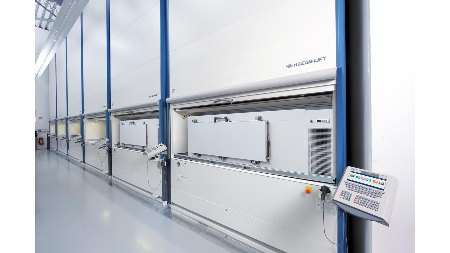 Logo Hänel Lean-Lift® Storage down to -80°C