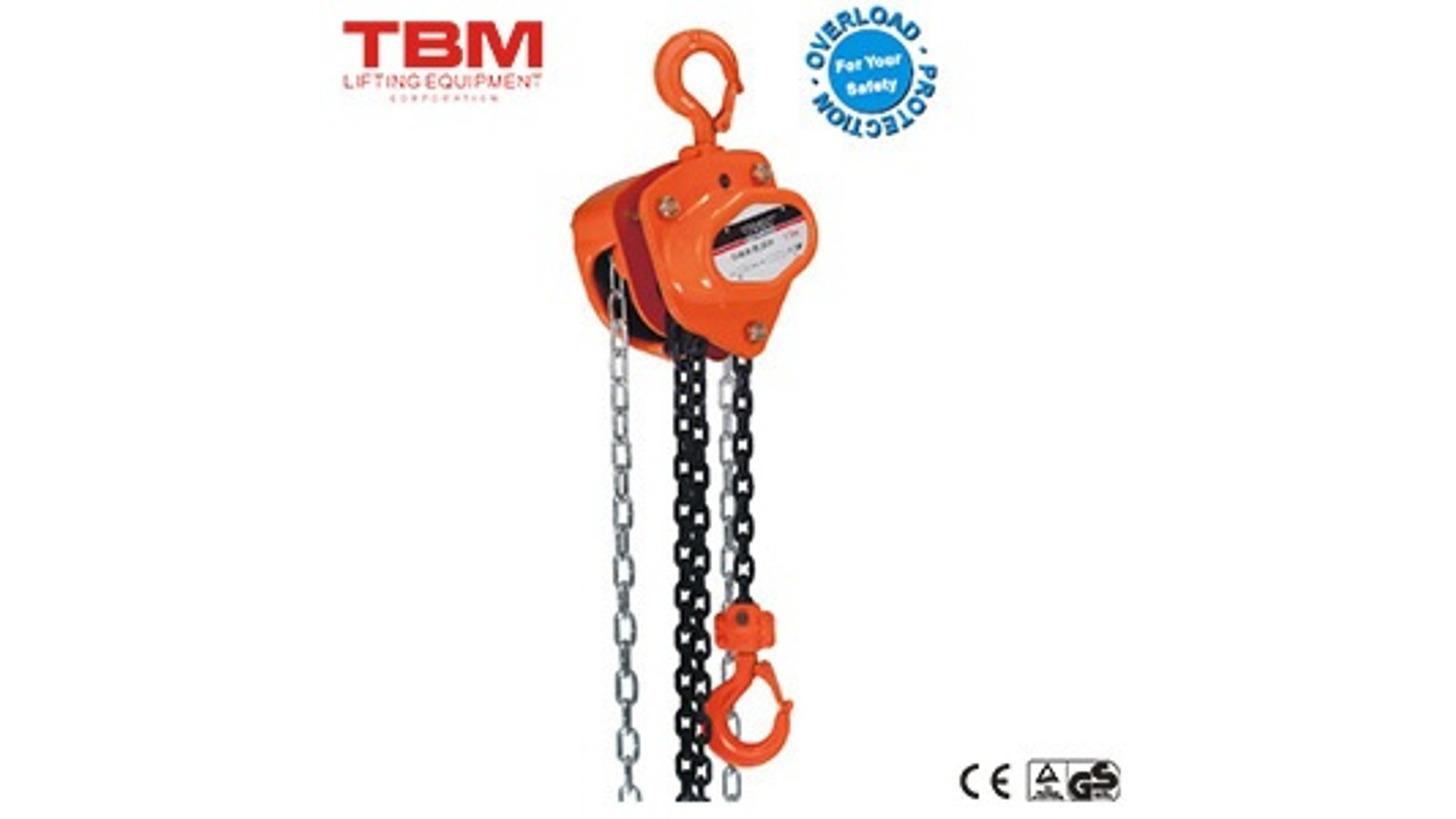 Logo Manual Chain Block