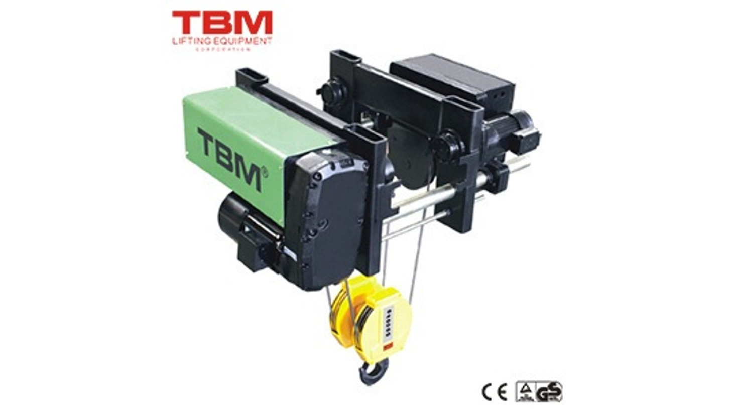 Logo Low Headroom Electric Wire-rope Hoist