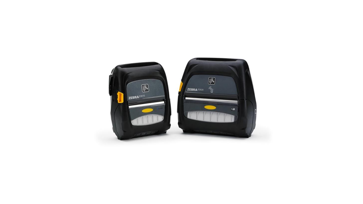 Logo Zebra® ZQ500-Serie - mobile Drucker -