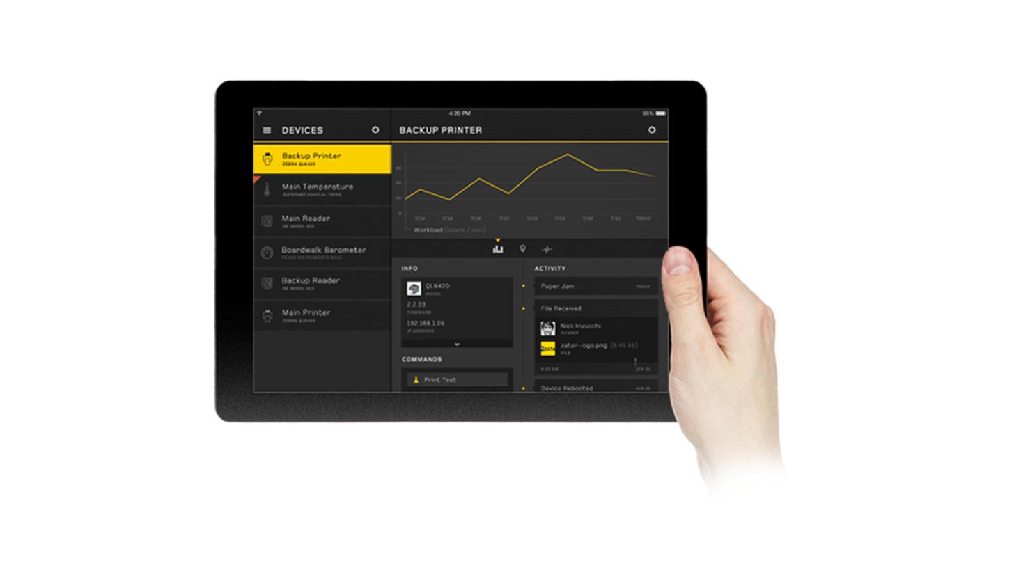 Logo Zebra® ET50/55 - hochrobuster Tablet-PC