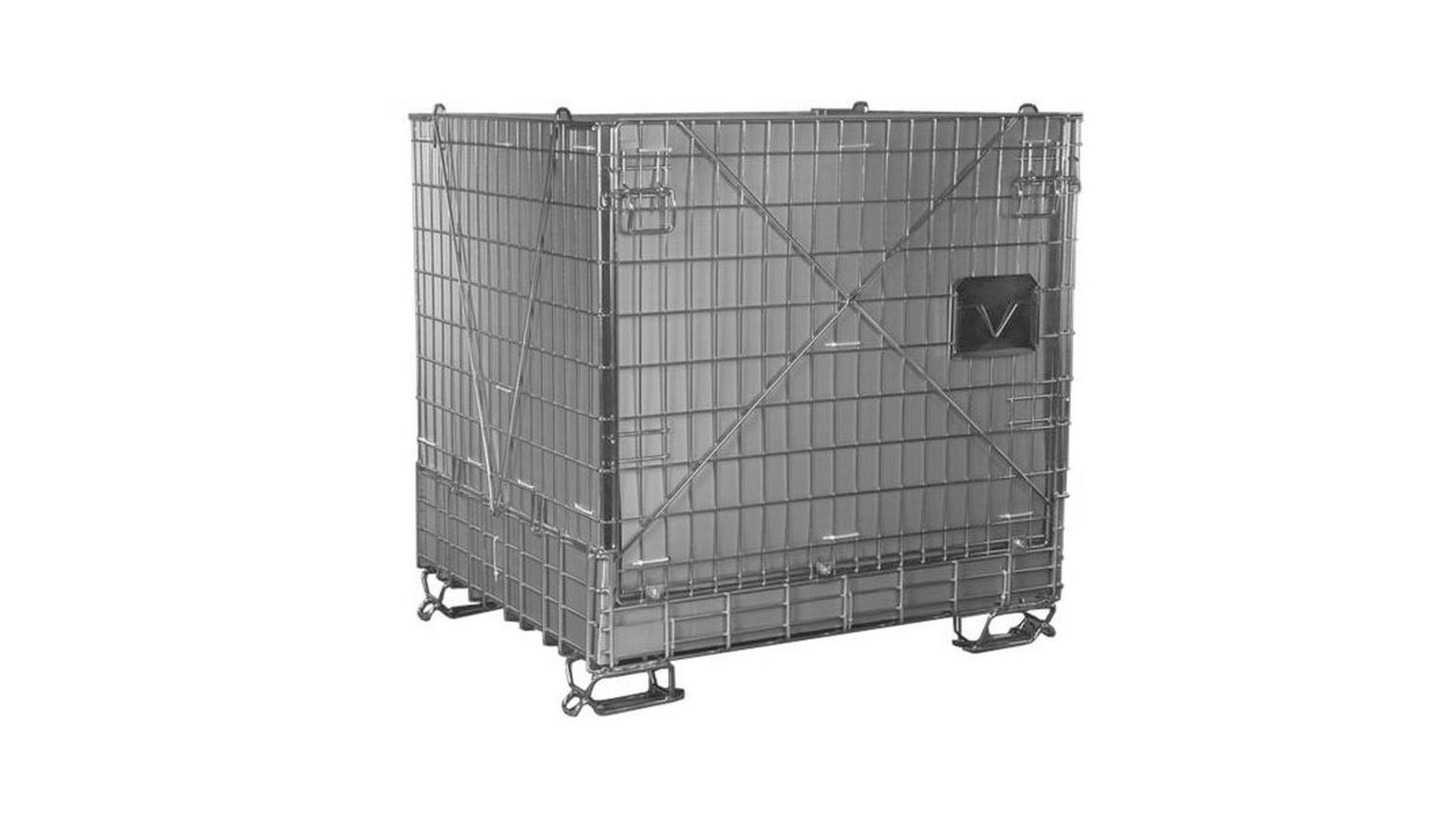 Logo Metal mesh containers