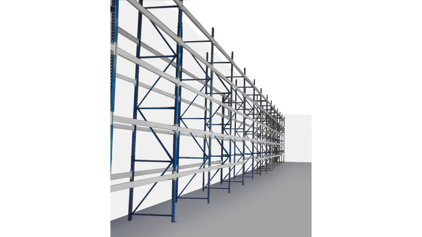 Logo High storage racks
