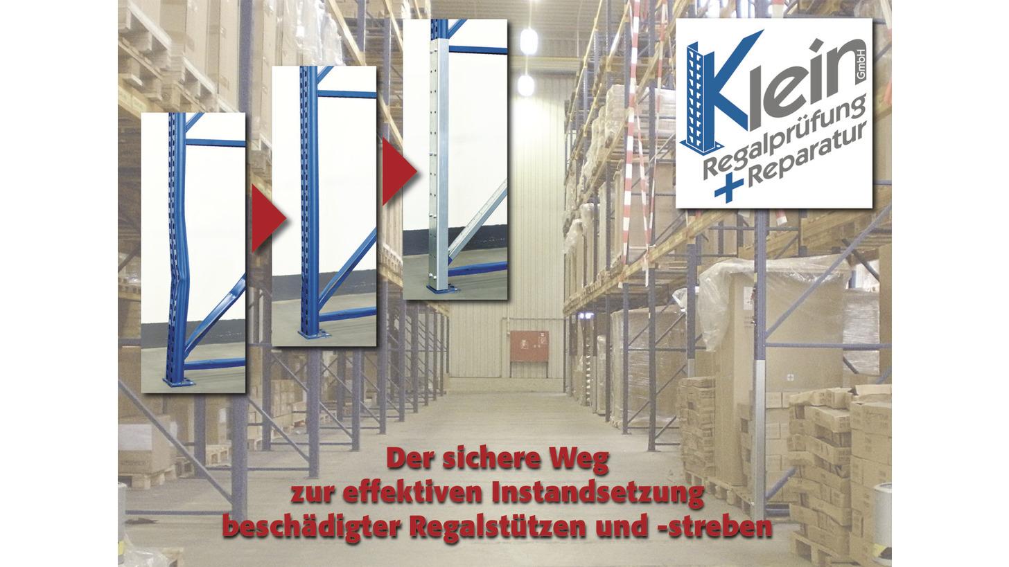 Logo Instandsetzungsset ROBUSTO für beschädigte Regalstützen