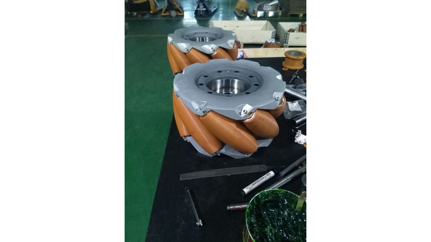 Logo COATED ROLLERS FOR SKID CONVEYOR