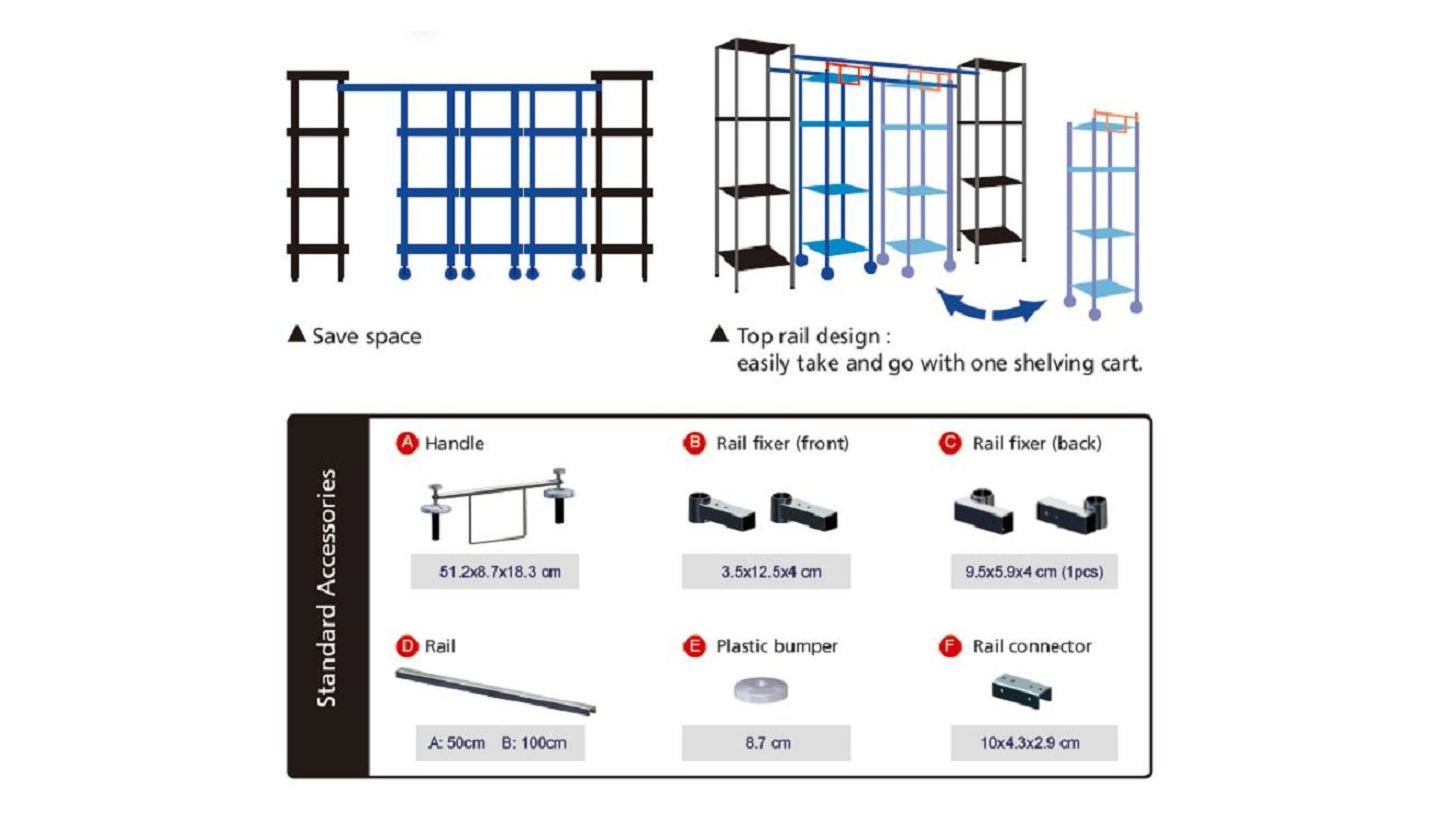 Logo TOP RAIL MOVING STORAGE SYSTEM