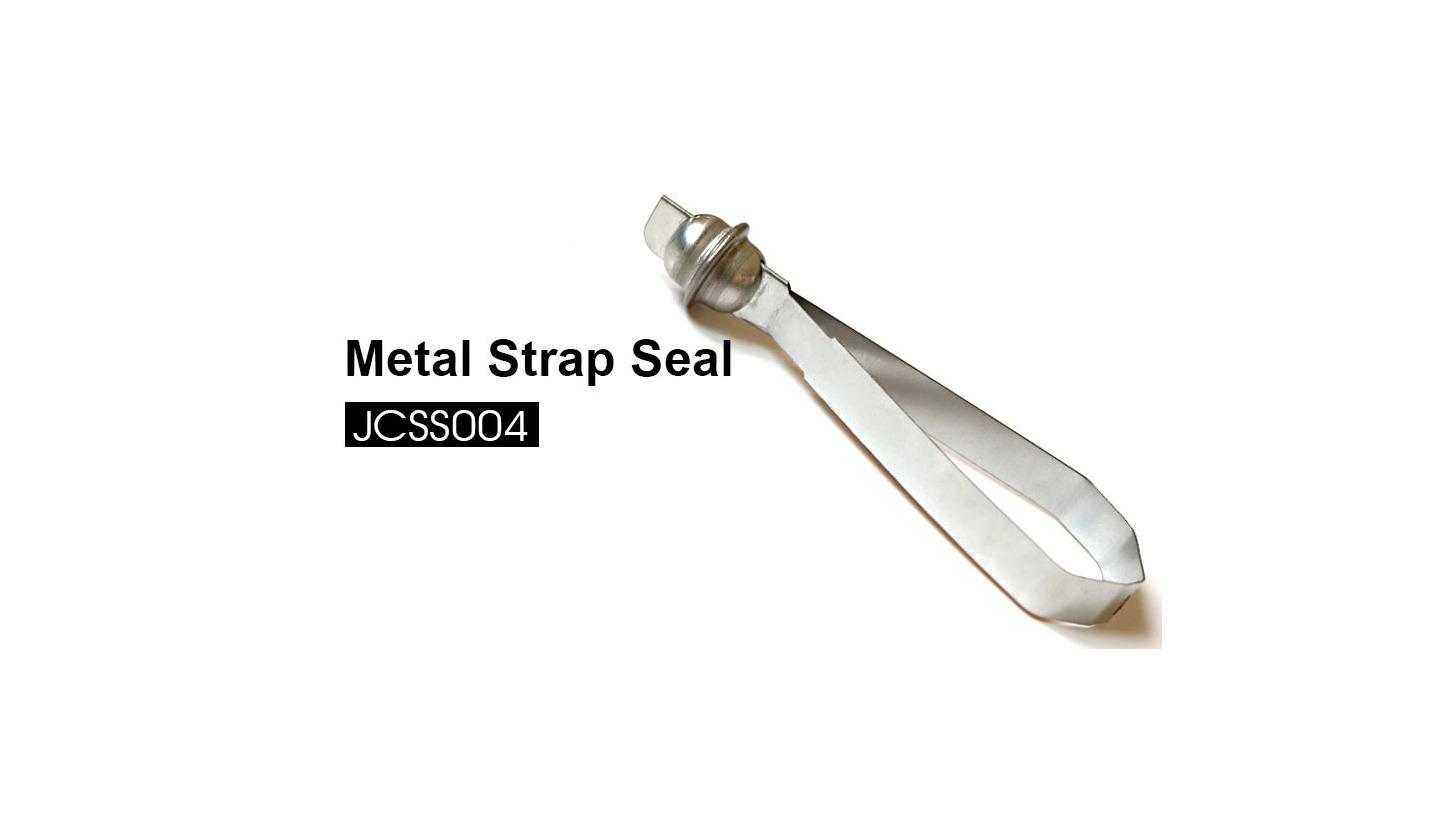 Logo Metal Strap Seal JCSS004