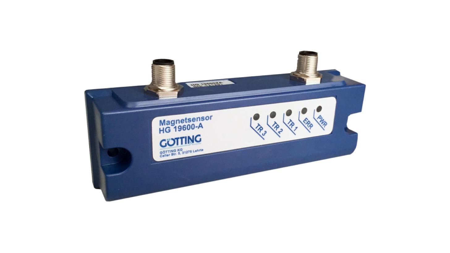 Logo Sensor Magnetic Tape Guidance for AGV