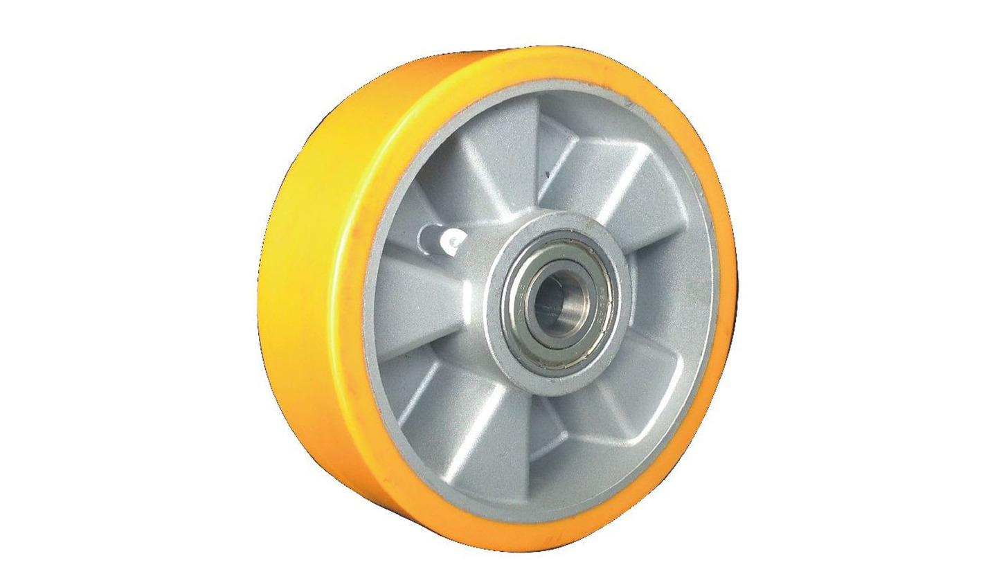 Logo PU with aluminum core wheels