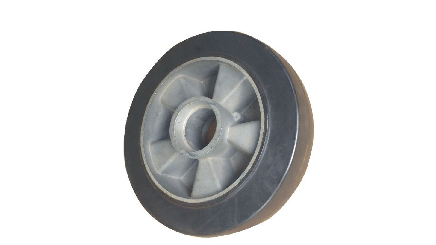 Logo RUBBER with aluminum core wheels