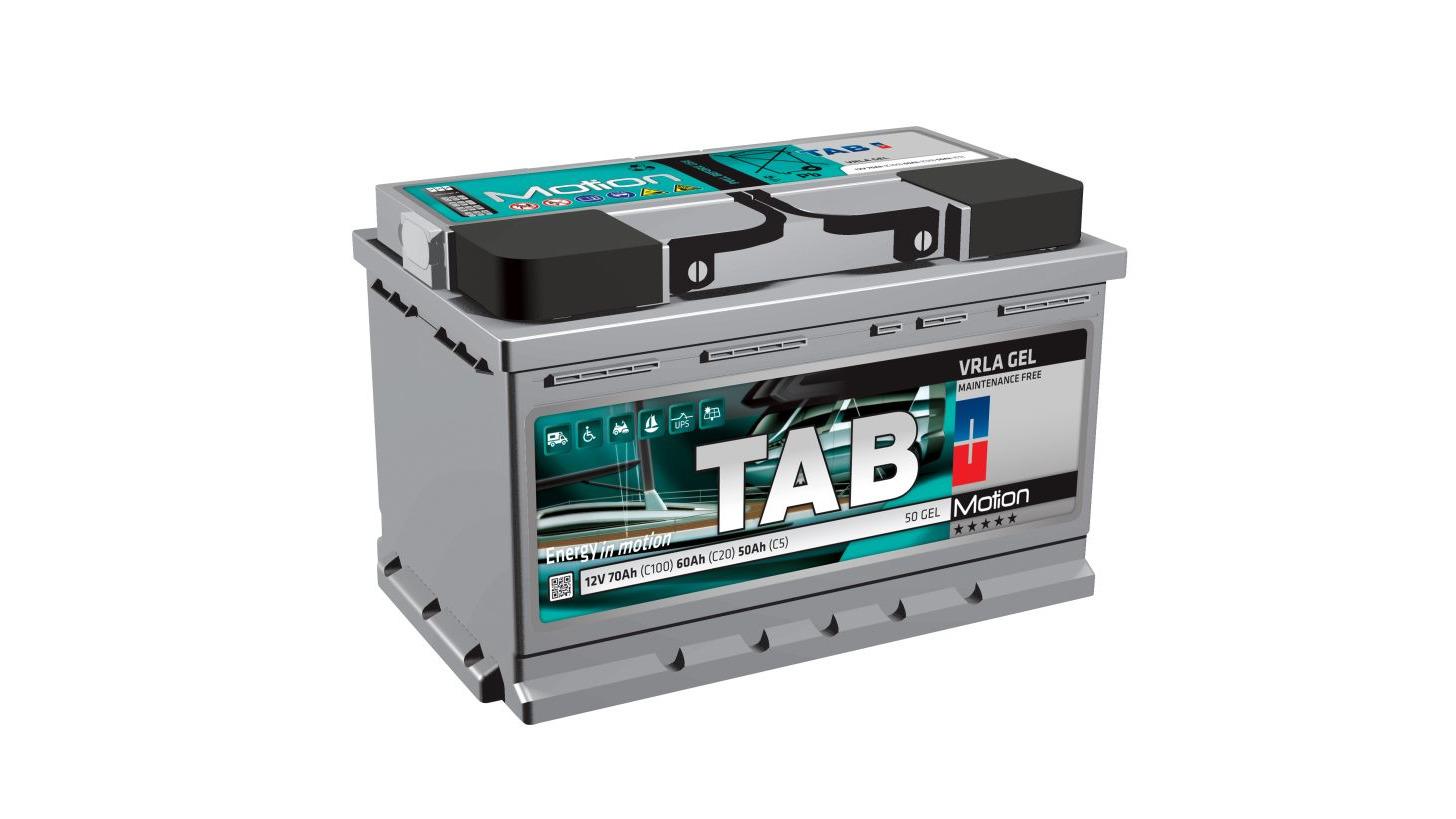 Logo TAB Motion Monoblock Batteries