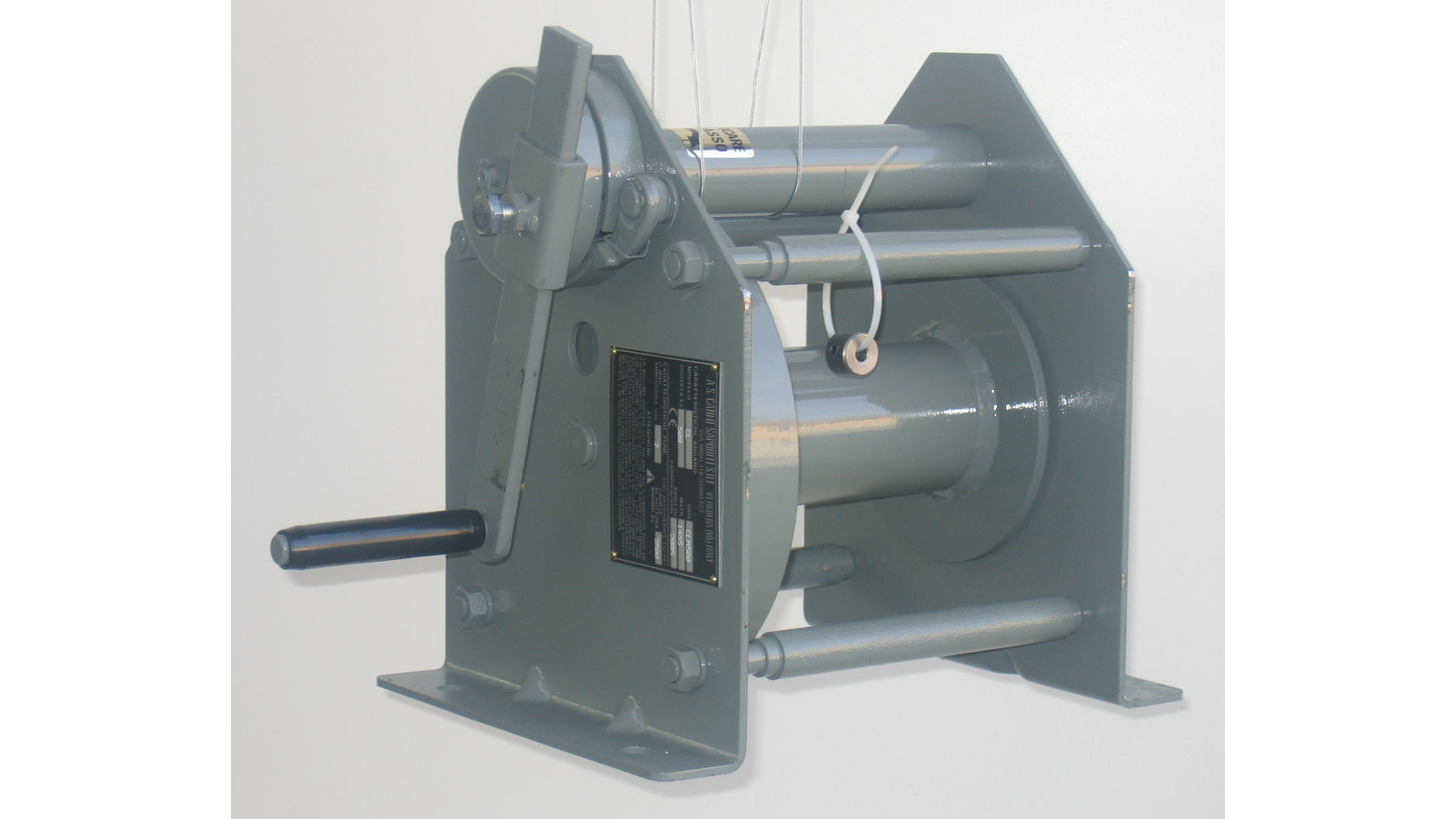 Logo Manual winch