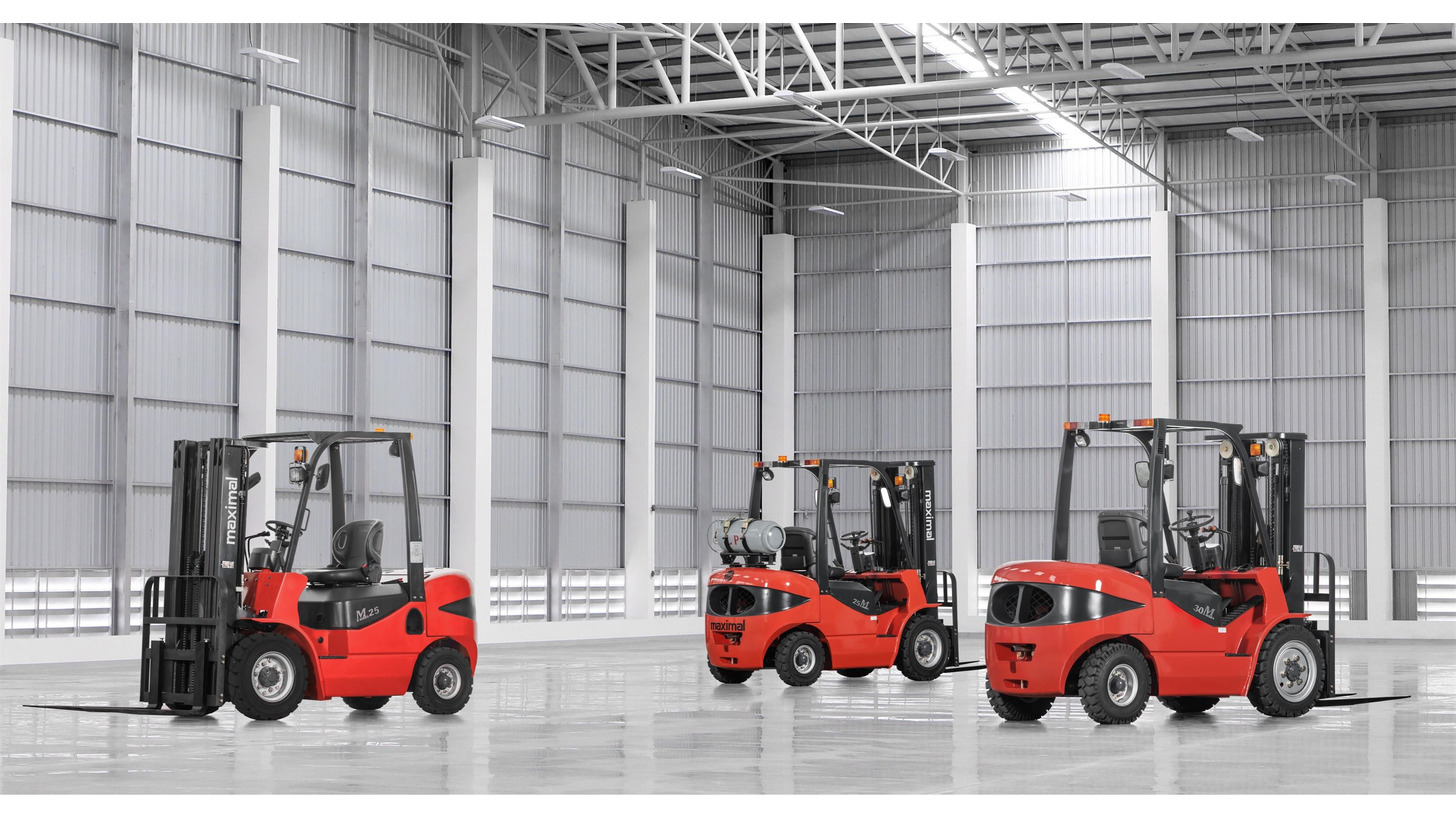 Logo M series common forklift