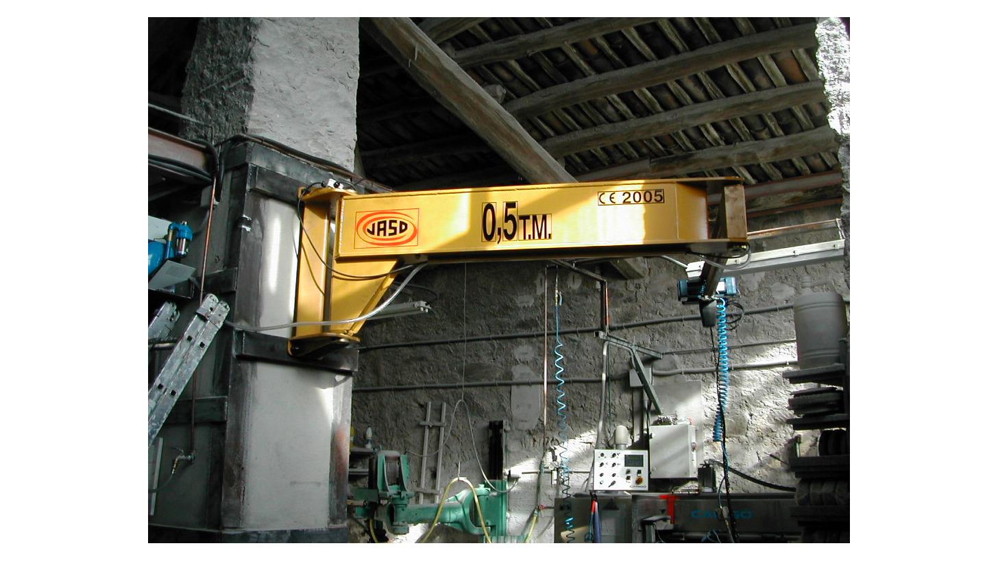 Logo Wall-mounted jib crane