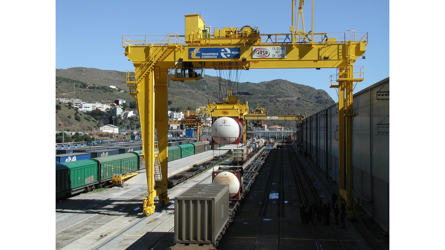 Logo Container handling cranes