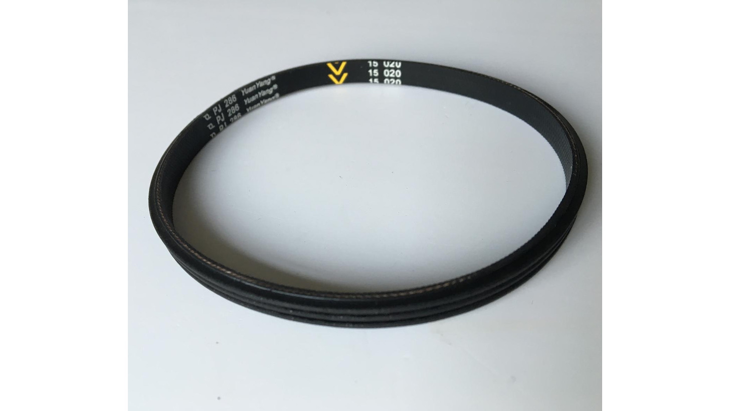 Logo Elastic poly v belt for roller conveyor