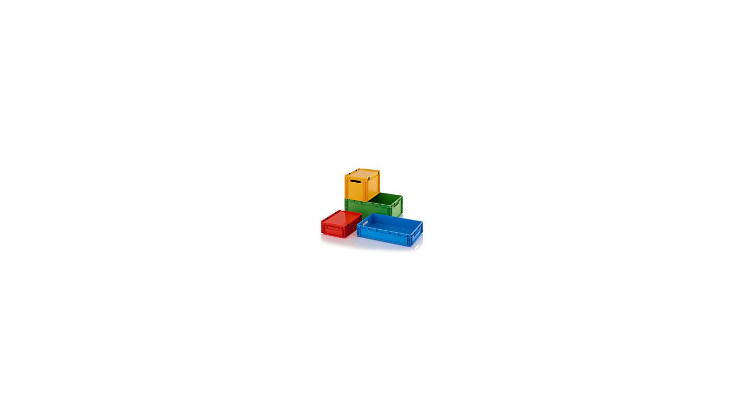 Logo Stapelbehälter im praktischen Format
