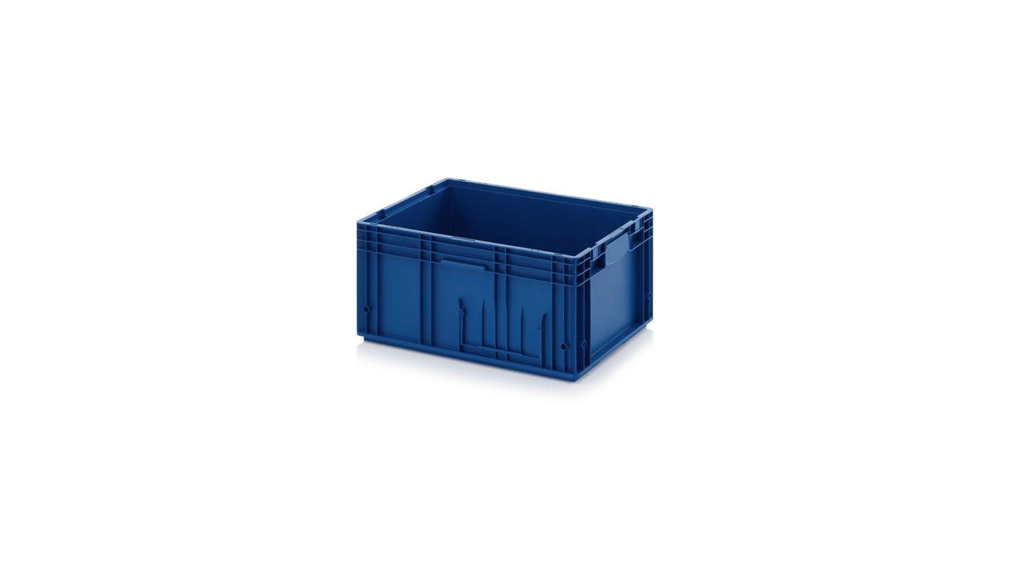 Logo KLT-Behälter - Die ideale Box für automatisierte Prozesse